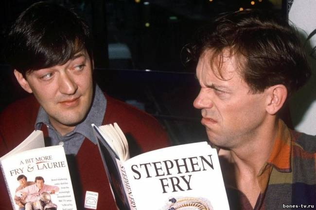 Stephen Fry, Hugh Laurie,